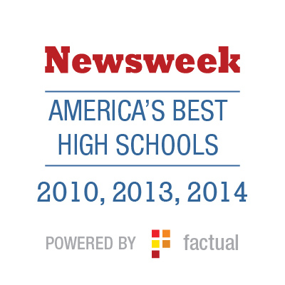 Newsweek America's Best High Schools 2010, 2013, 2014