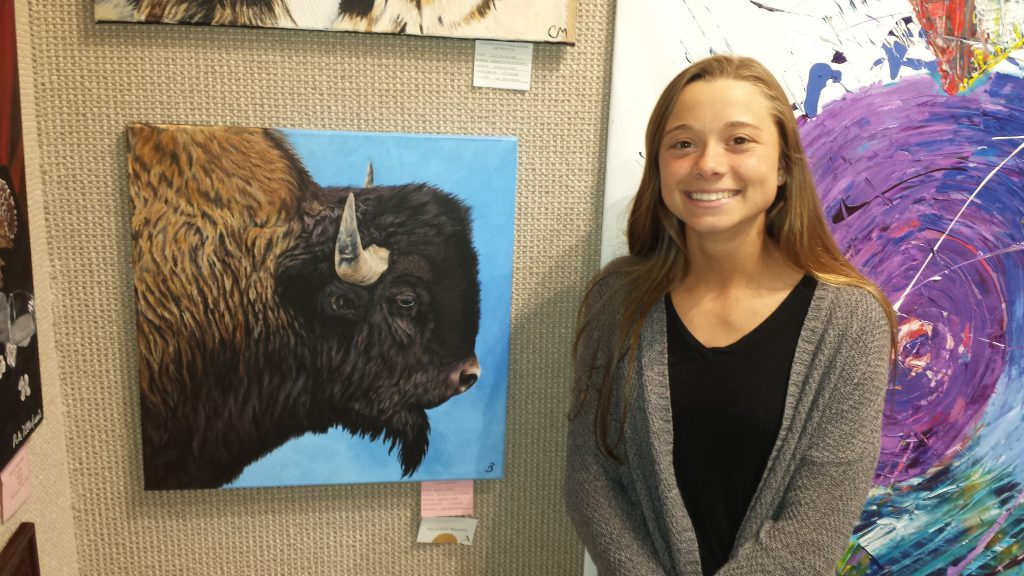 Bailey Reigel art award