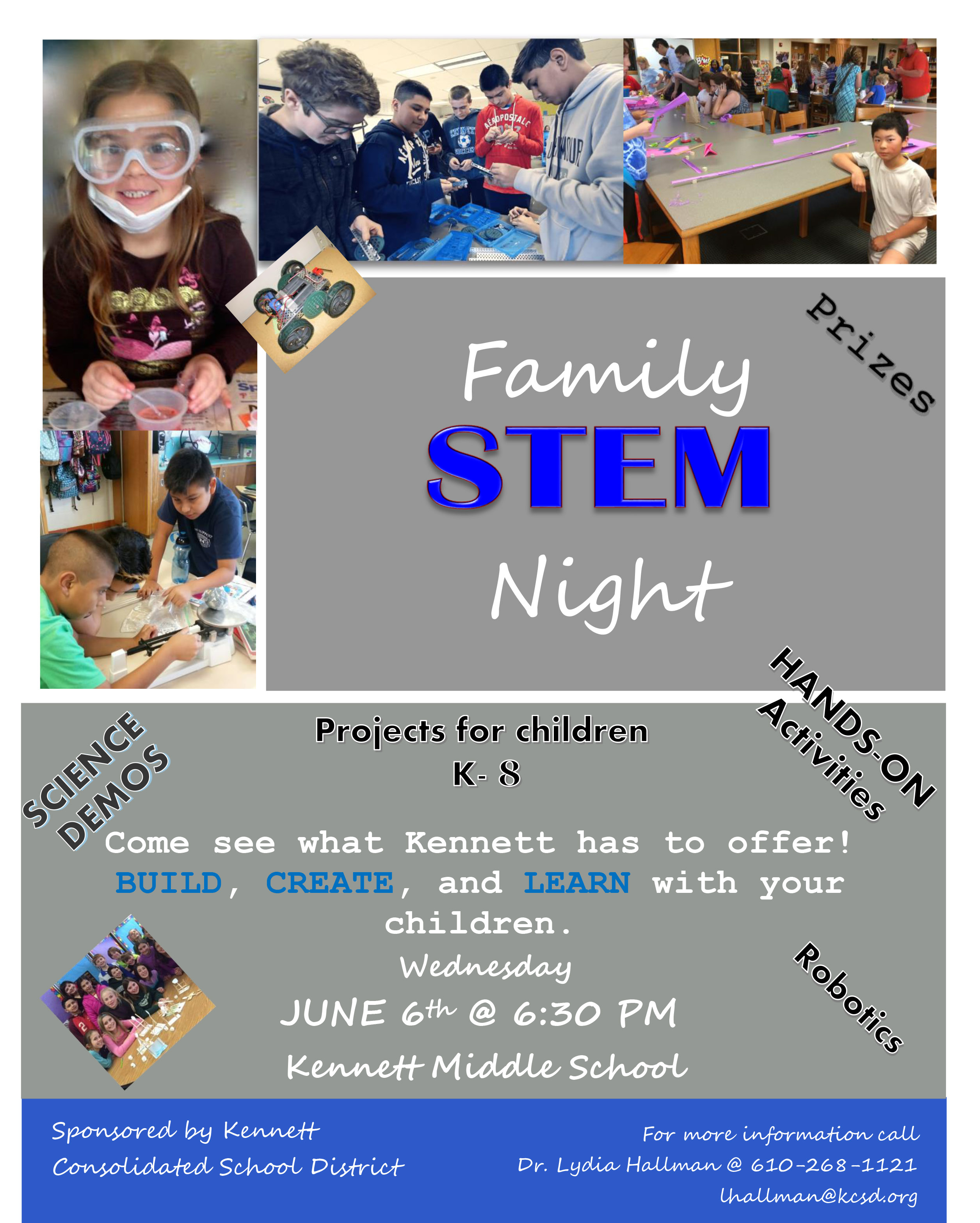 Information about family STEM night
